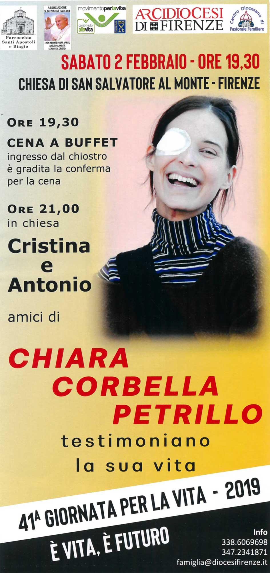 Cristina e Antonio testimoniano la vita di Chiara Corbella
